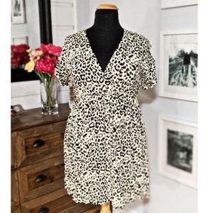 Torrid Leopard Print Dress Size 1